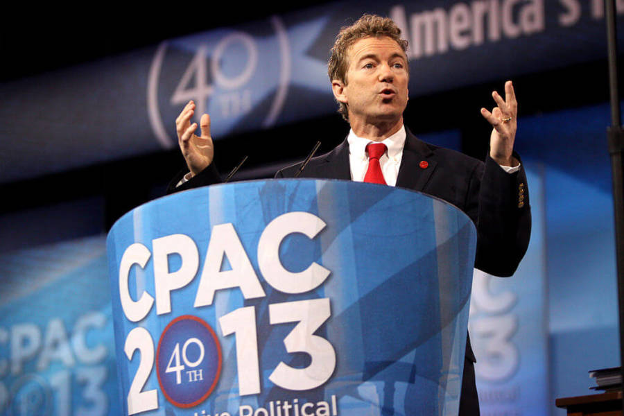 Rand Paul's New Take on the First Amendment